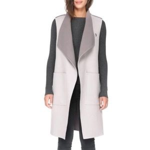 Medium Soia & Kyo Linn-RV Reversible Wool Vest